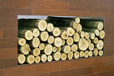 Decorative Logs Make Your Fireplace Look Great