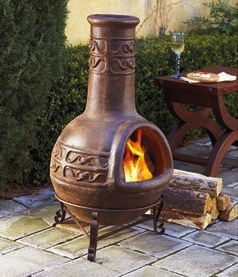 Information about using a chiminea including maintenance