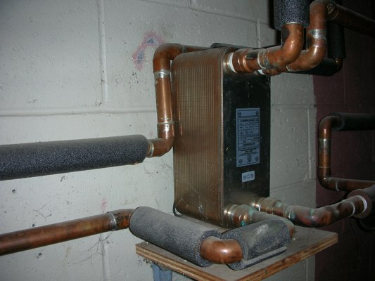 Plate Heat Exchanger Heat Your Home And Hot Water