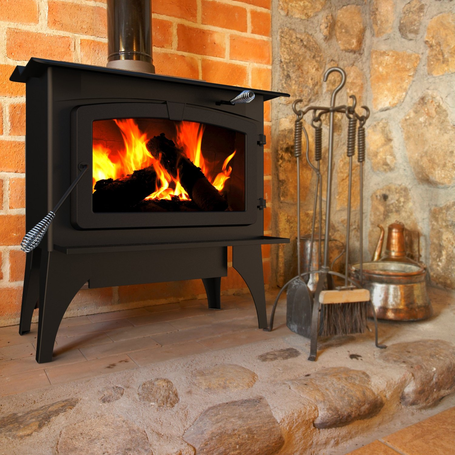 wood burning stove a safe heating alternative