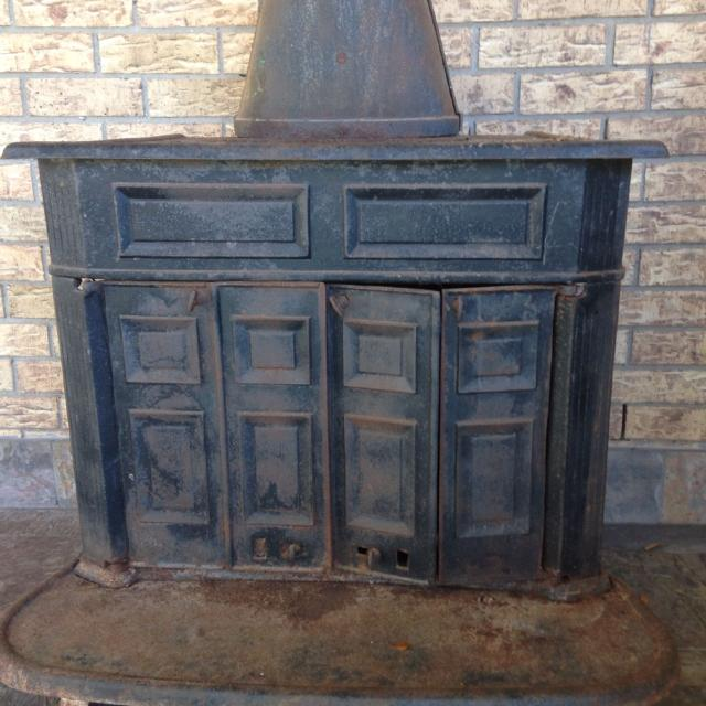 Franklin Wood Stove - Franklin Wood Stove - Antique Fireplace Insert