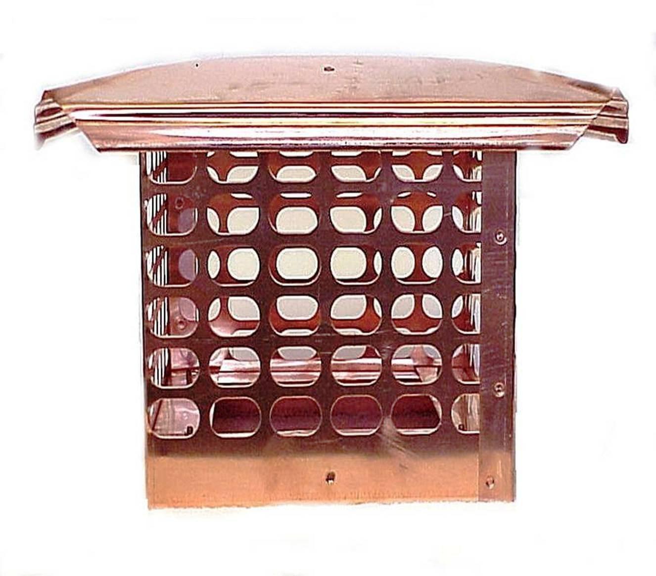 Spark Arrestor Home Depot : Copper chimney cap adding value and protection