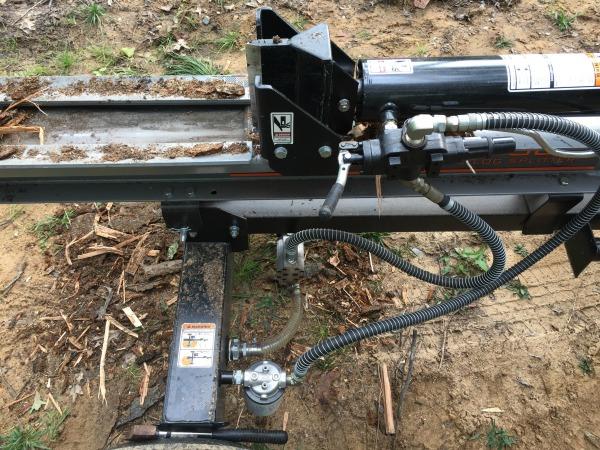 Dirty Hand Tools Log Splitter Review - 22 Ton Professional Grade