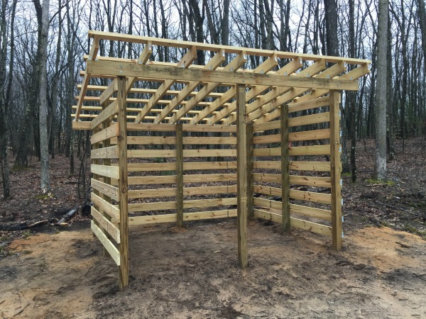 Firewood Shed Plans Free To