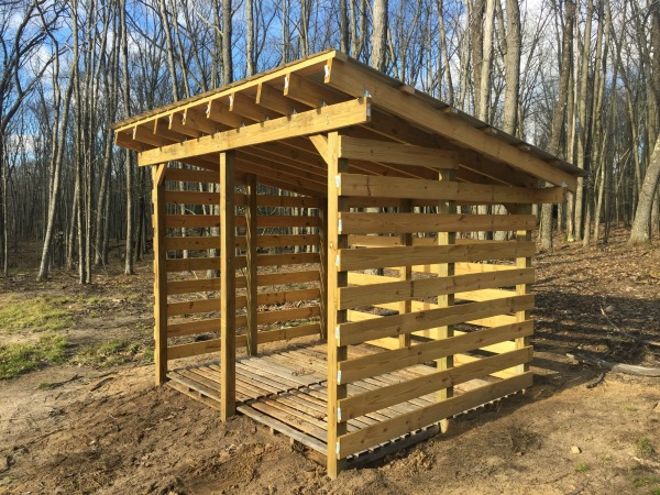 Preferred Firewood Shed Plans - Free Plans To Build Your Own Firewood Shed SD44