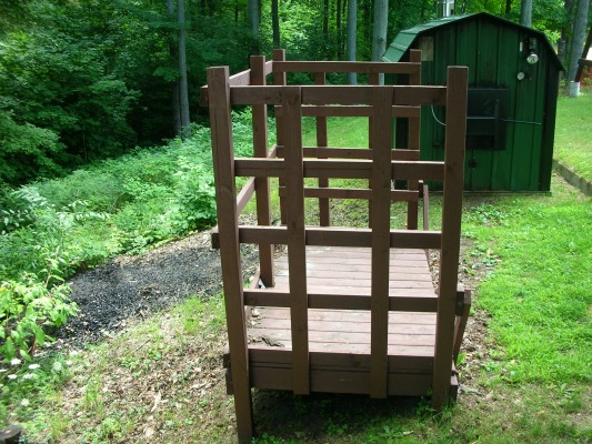 firewood storage rack plans you