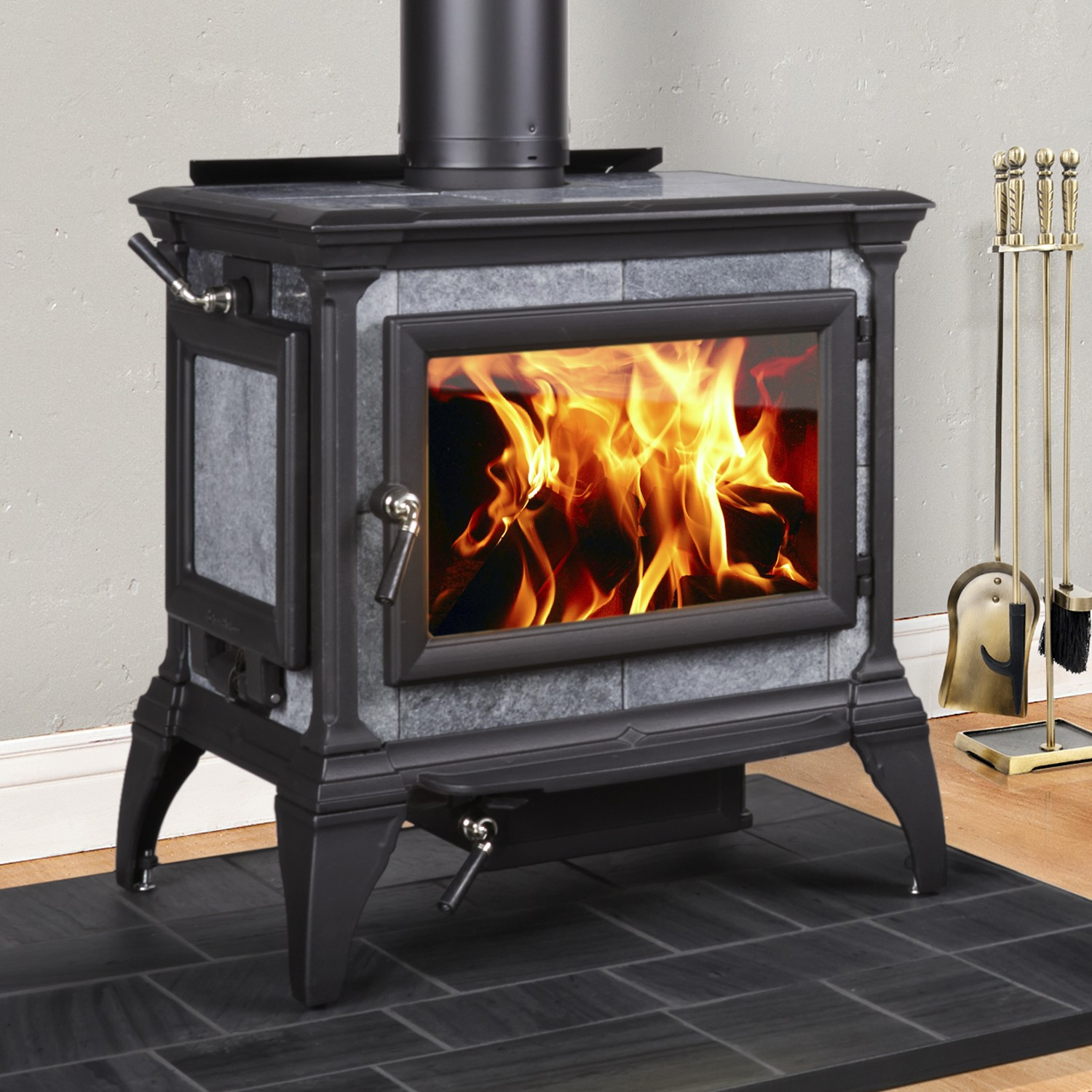 Soapstone Wood Stoves : Hearthstone wood stoves review and soapstone options