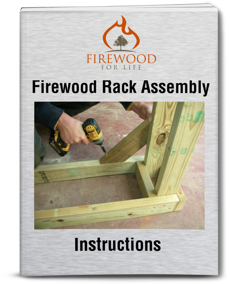 Firewood Rack Assembly Instructions - Build Your Own Log Rack