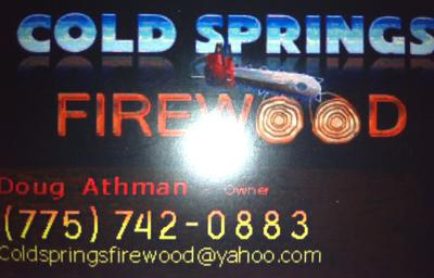 Cold Springs Firewood