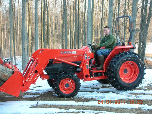Kubota L4400 Tractor Review