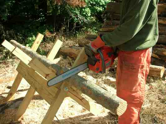 Cutting Firewood - Do It Yourself Guide