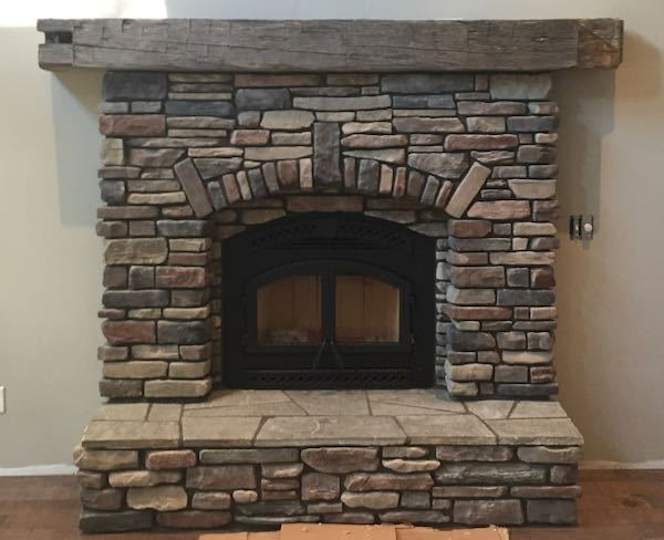 Building A Stone Fireplace Ideas And