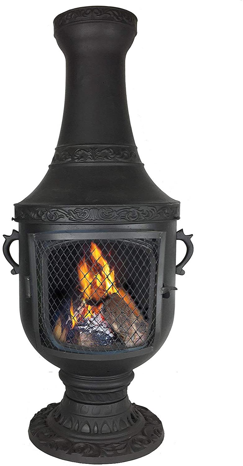 Buying A Cast Aluminum Chiminea The Perfect Outdoor Fireplace