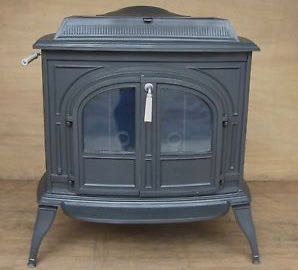 Next Fully Open Both The Primary And Secondary Air Place Stove Into Horizontal Burn Mode By Moving Lever To Position