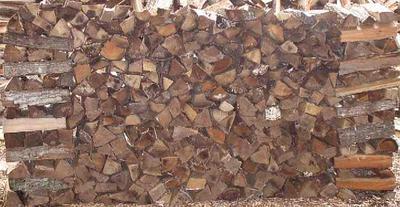 Firewood 4x8 rack of wood - Tim Corbin's Tree Service